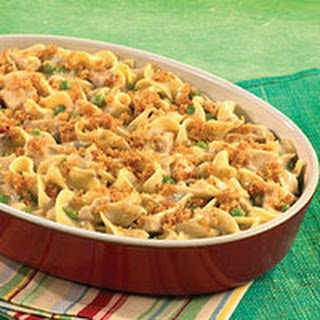 Hearty Chicken & Noodle Casserole.