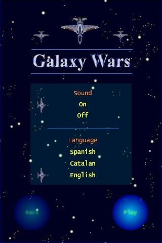 Galaxy Wars - screenshot