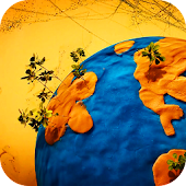 Plasticine Planet Live Wallpap