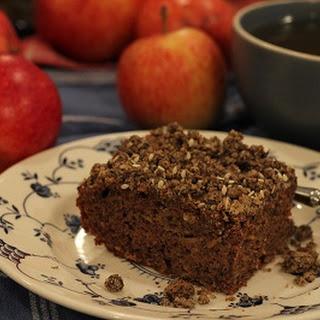 Apple Buckwheat Crumble Cake