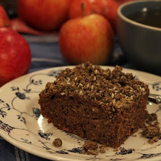Apple Buckwheat Crumble Cake.