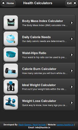 Health Calculator Free