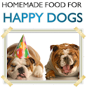 Homemade Food For Happy Dogs icon