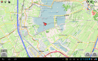 Screenshot of OsmAnd+ Maps & Navigation
