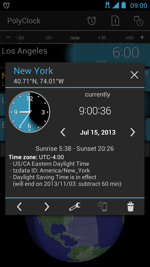 PolyClock™ World Clock - screenshot