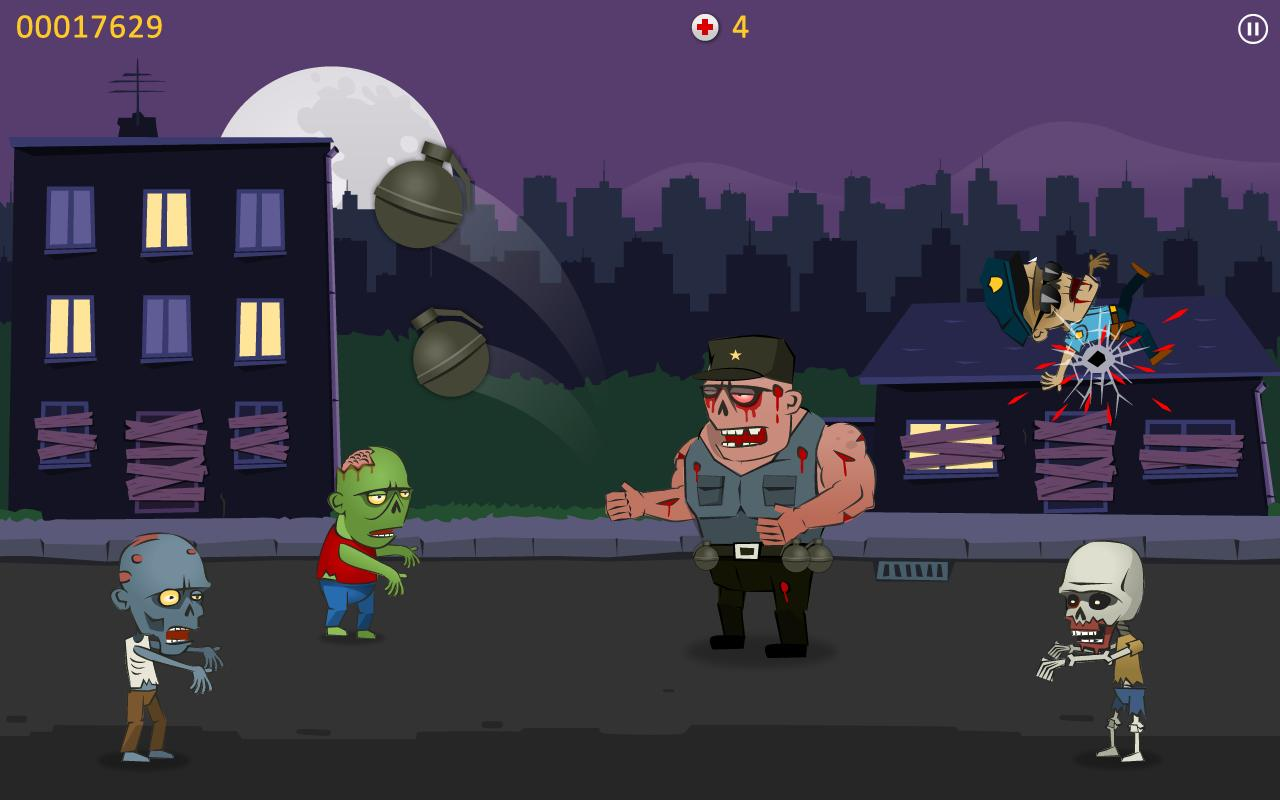 Zombie Blood - Tap Tap Shooter- screenshot