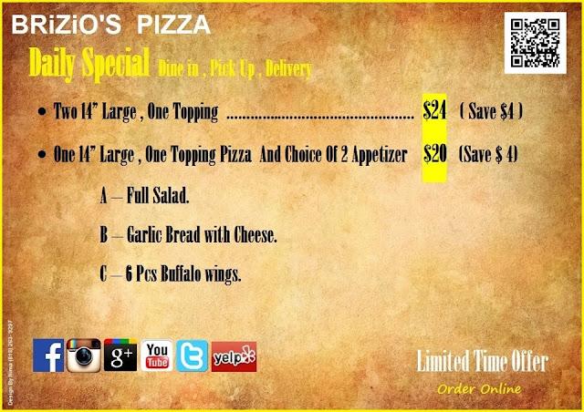 Photo from Brizio Pizza