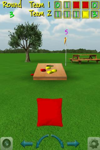 CornHole 3D Bag Toss Game - screenshot