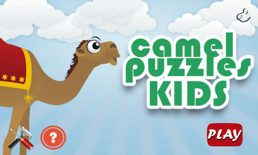 Camel Jigsaw Puzzles for kids