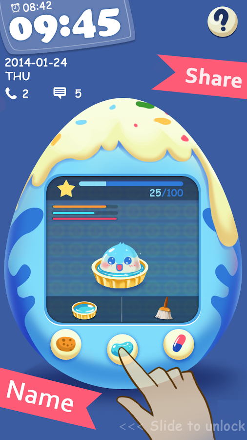 Pet Egg GO Locker Theme - screenshot