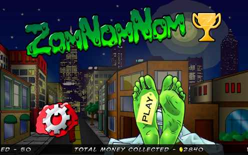 ZomNomNom - Zombie Game - screenshot thumbnail