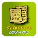 Sticky Note Cork&Orc