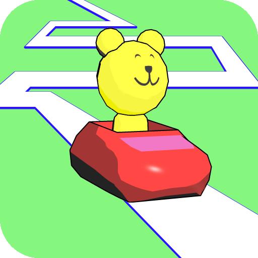 描いたら動く ジェットコースター!(知育/幼児・子供向け) 教育 App LOGO-硬是要APP