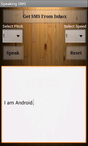 SMS Speaker
