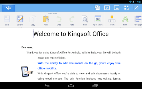 Kingsoft Office + PDF - 45 Lan - screenshot thumbnail