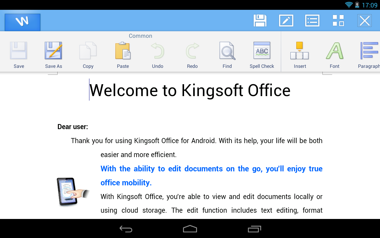 Kingsoft Office + PDF - 45 Lan - screenshot