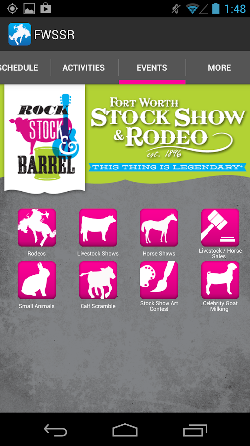 Fort Worth Stock Show & Rodeo - screenshot