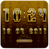 KRONE Digital Clock Widget