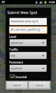 Longboard Spot Finder - screenshot thumbnail