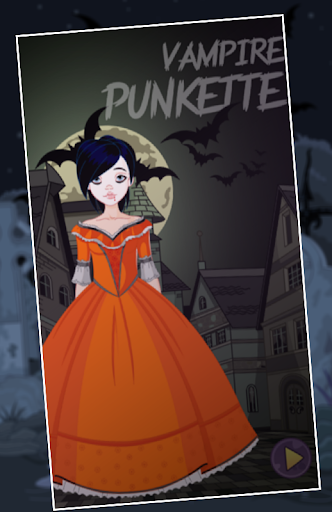 Dress Up Game Vampire Punkette