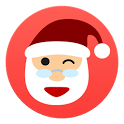Tell me, Santa Claus Christmas icon