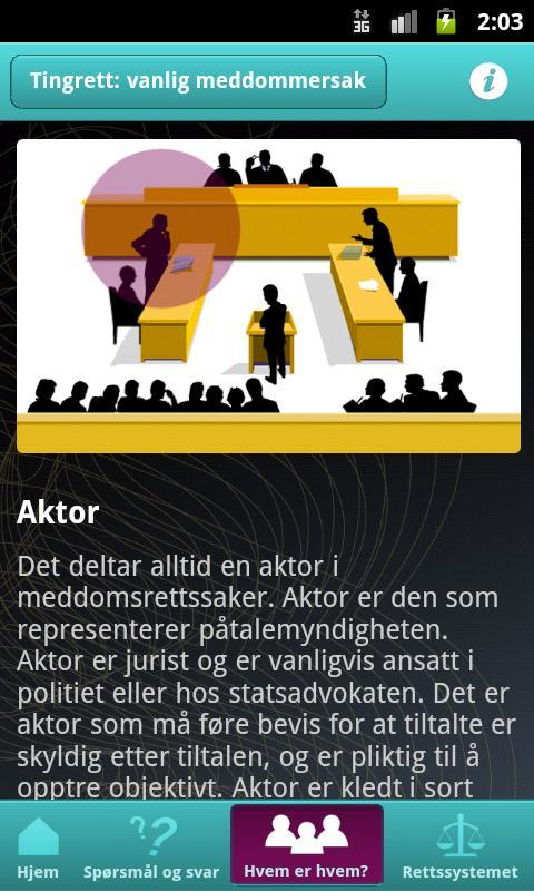 Vitne i retten- screenshot