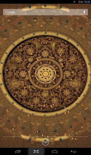 Steampunk Sun 2 Live Wallpaper