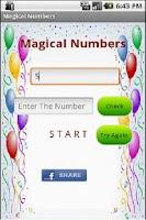 Screenshot of Magical Numbers