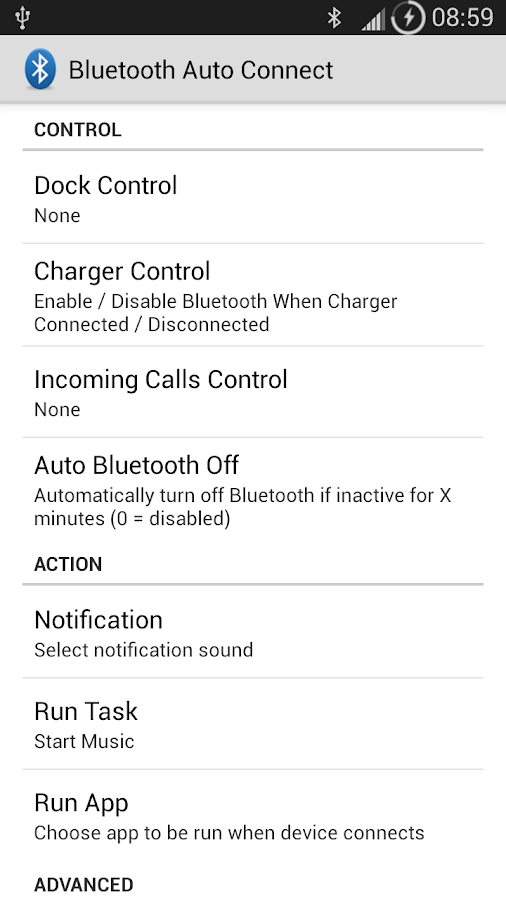 Bluetooth Auto Connect- screenshot
