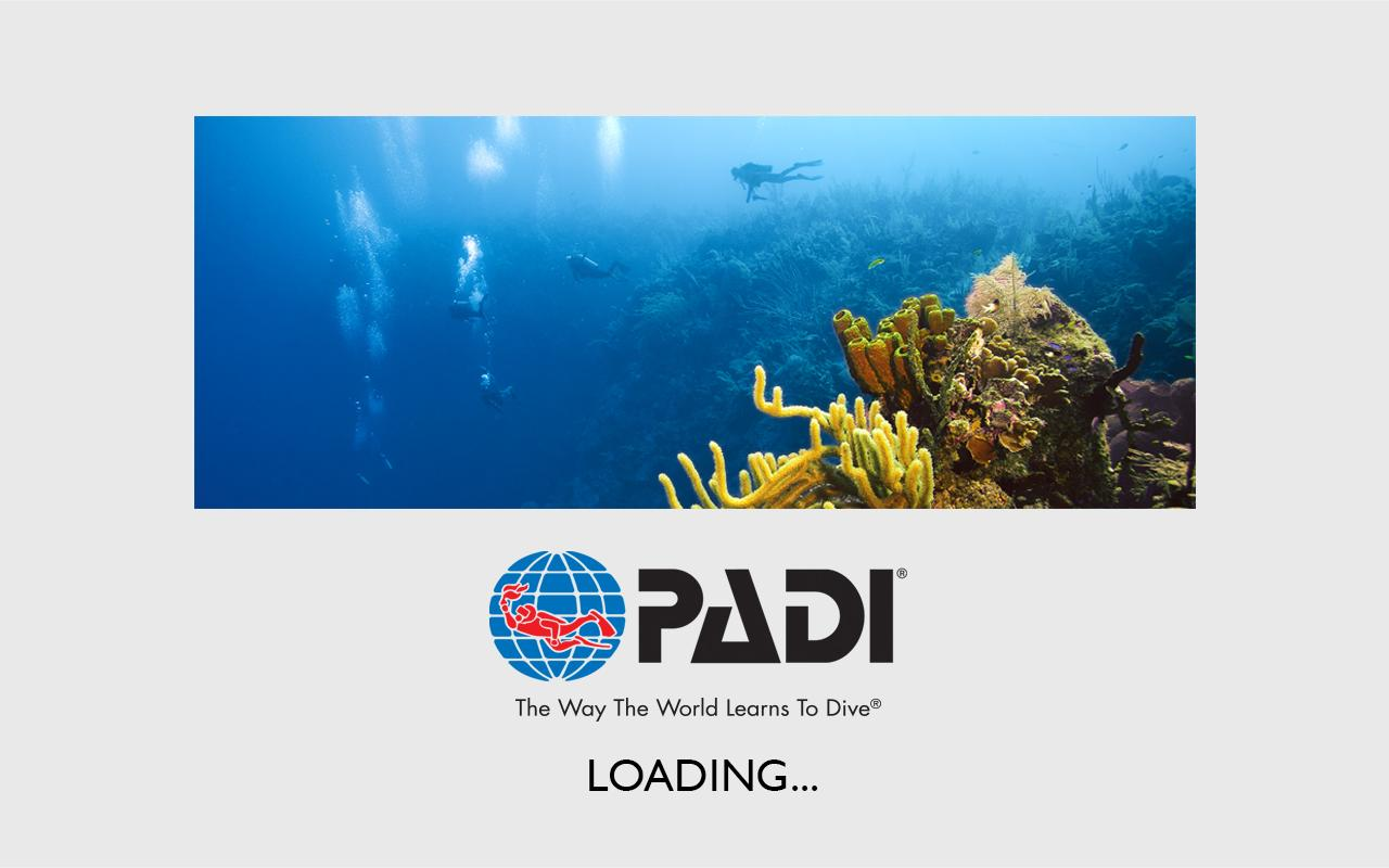 PADI Library- screenshot