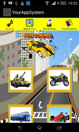 Cool Car Activities App