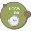 Wall clock UCCW skin icon
