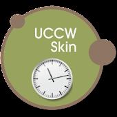 Wall clock UCCW skin