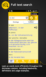 Duden German Dictionaries- screenshot thumbnail