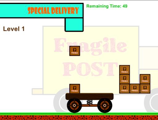 Fragile Post - Box Puzzle Game