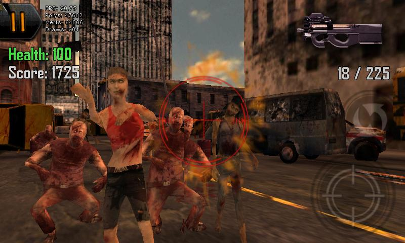 Dead Shot Zombies - screenshot