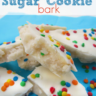 Sugar Cookie Bark
