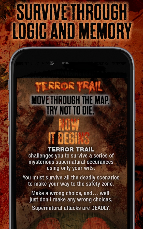 Terror Trail- screenshot