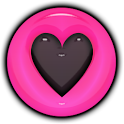 THEME - Pink Heart Halo icon