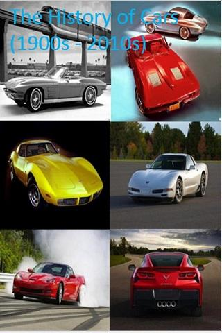 History of Cars 1900s - 2010s
