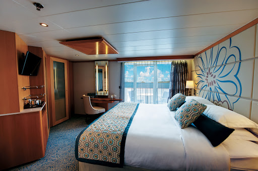 Tere-Moana-cabin-A - Room to relax: A spacious cabin (or stateroom) aboard Tere Moana
