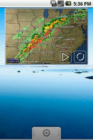 Tennessee Radar- screenshot