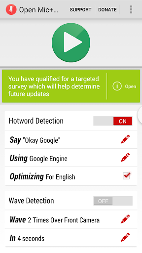 Download Open Mic+ For Google Now For PC