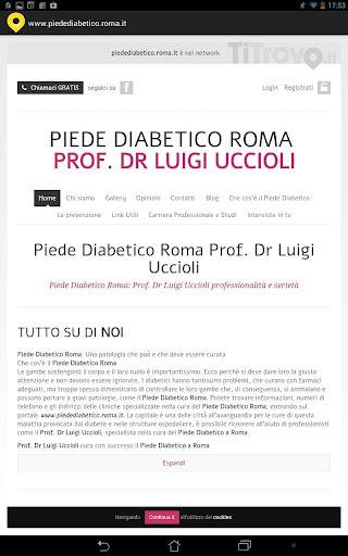 Piede diabetico Roma