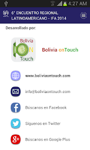 IFA Bolivia 2014 screenshot 3