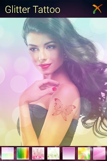 【免費攝影App】金蔥紋身-APP點子