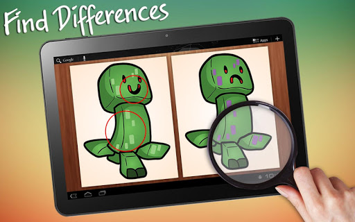Find Differences Minecraft