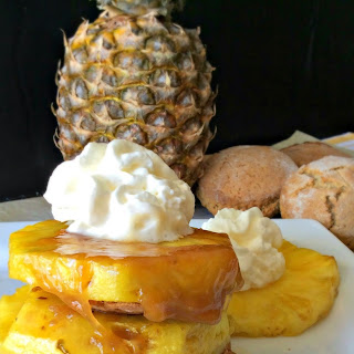 Pineapple and Cinnamon Shortcakes