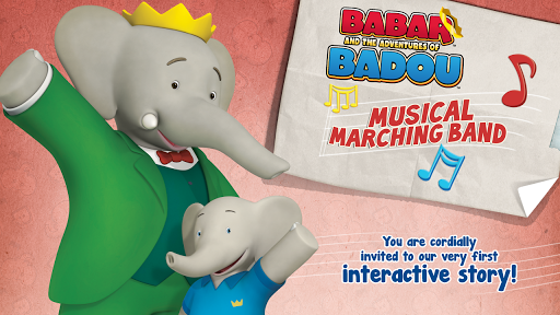 【免費教育App】Babar & Badou's Marching Band-APP點子