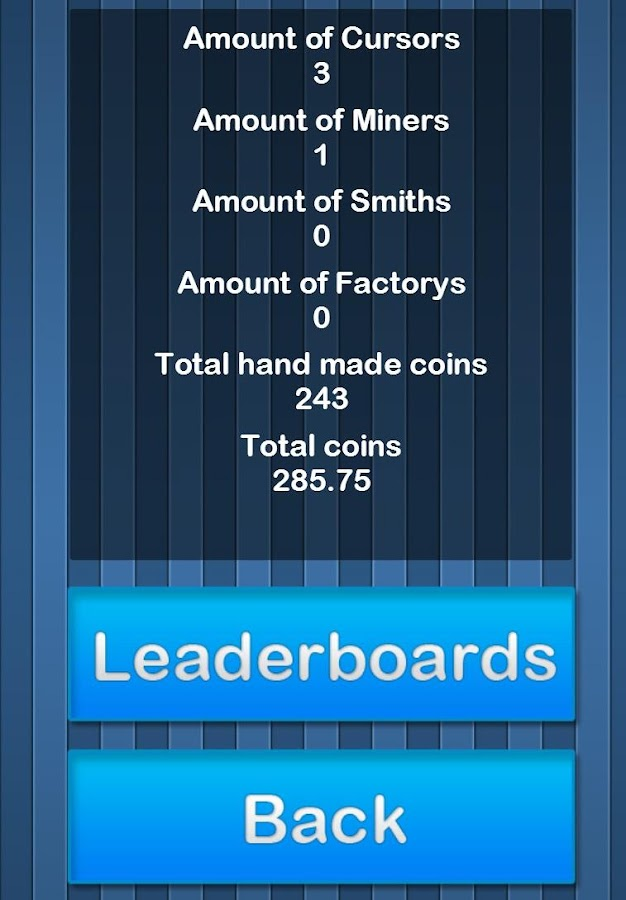 Coin Clicker - screenshot